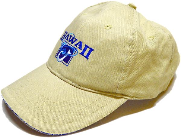 ベージュ色カーキ帽子キャップコーデ@古着屋カチカチ011