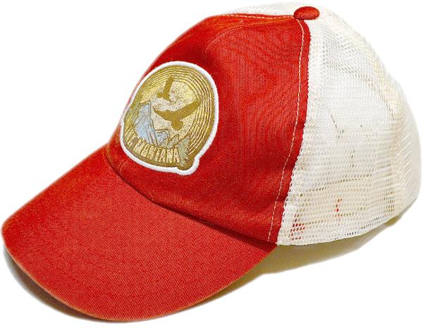 Used Trucker Capメッシュキャップ帽子メンズレディースOK@古着屋カチカチ010