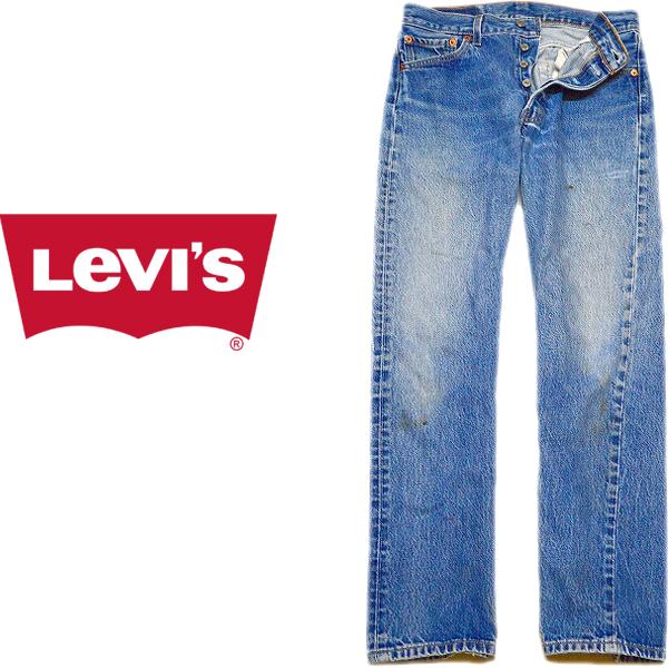 Levis®501リーバイス®ジーンズ画像デニムパンツメンズレディースコーデ@古着屋カチカチ07