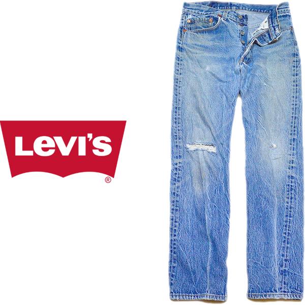 Levis®501リーバイス®ジーンズ画像デニムパンツメンズレディースコーデ@古着屋カチカチ08