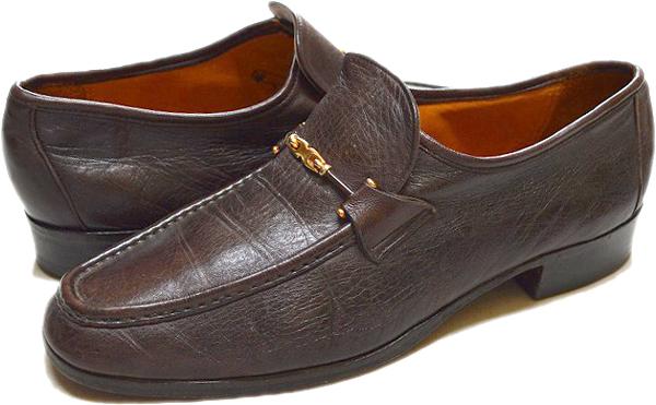 USED革靴レザーシューズ黒茶メンズレディースコーデ画像@古着屋カチカチ014