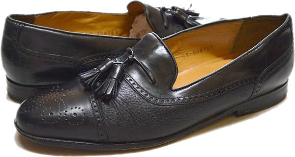 USED革靴レザーシューズ黒茶メンズレディースコーデ画像@古着屋カチカチ017
