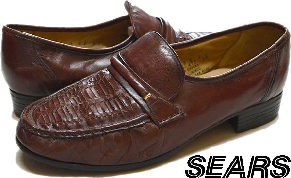 USED革靴レザーシューズ黒茶メンズレディースコーデ画像@古着屋カチカチ018