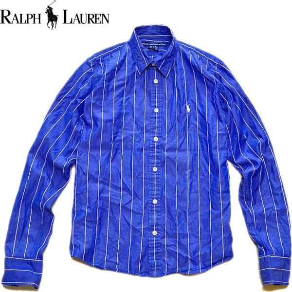 Ralph Laureラルフローレン長袖ボタンダウンシャツ画像メンズレディースコーデ@古着屋カチカチ03