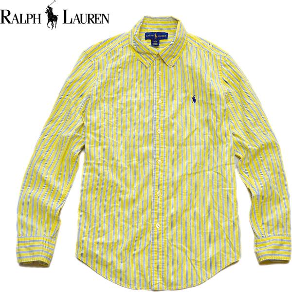 Ralph Laureラルフローレン長袖ボタンダウンシャツ画像メンズレディースコーデ@古着屋カチカチ02