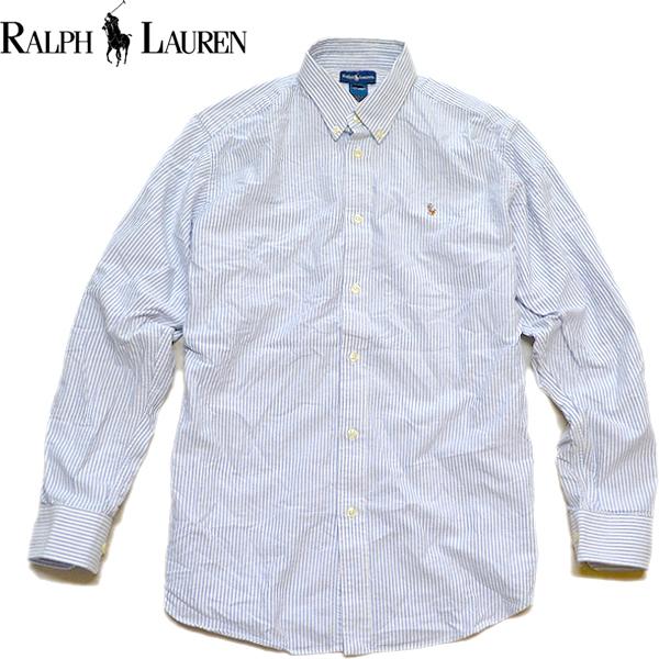 Ralph Laureラルフローレン長袖ボタンダウンシャツ画像メンズレディースコーデ@古着屋カチカチ04