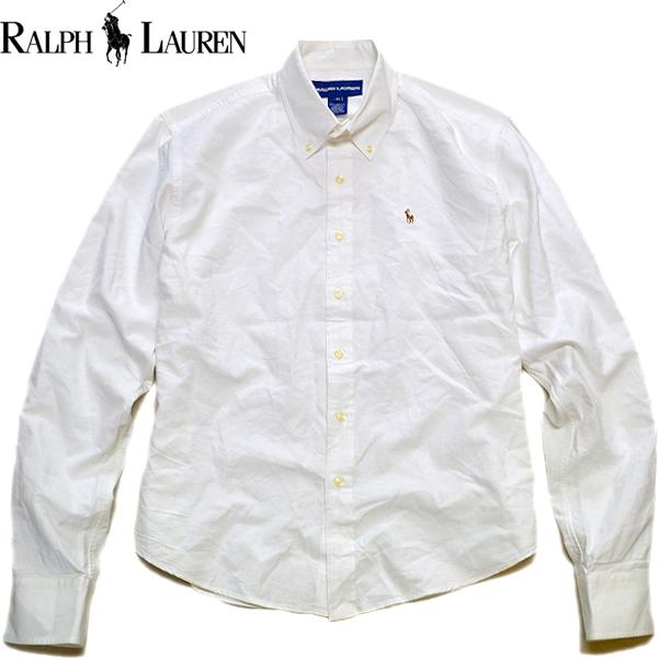Ralph Laureラルフローレン長袖ボタンダウンシャツ画像メンズレディースコーデ@古着屋カチカチ06