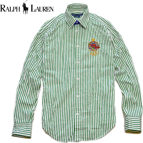 Ralph Laureラルフローレン長袖ボタンダウンシャツ画像メンズレディースコーデ@古着屋カチカチ07