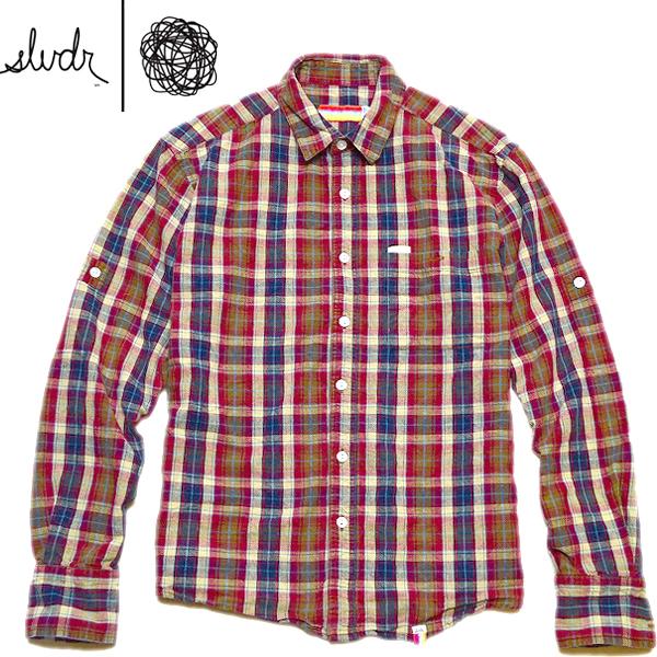 長袖チェックシャツ画像メンズレディーススタイルコーデ@古着屋カチカチ01