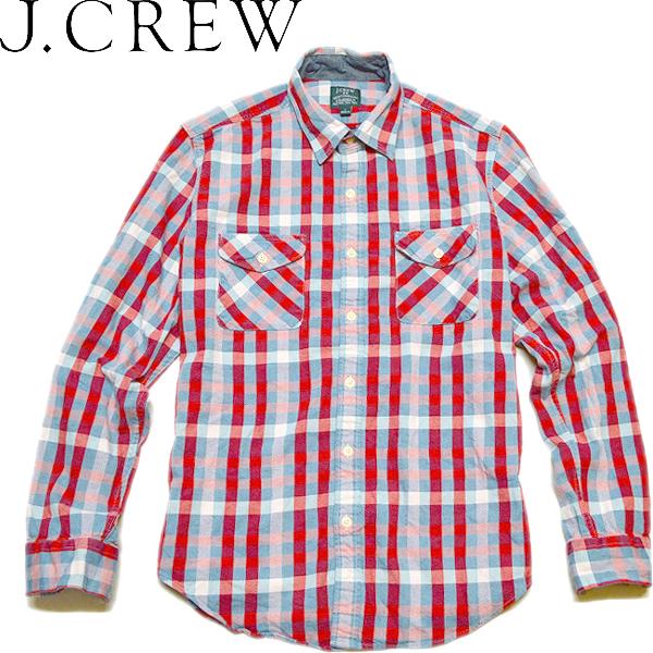 長袖チェックシャツ画像メンズレディーススタイルコーデ@古着屋カチカチ02