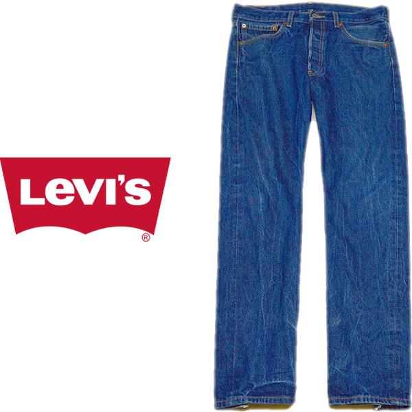 Levisリーバイス501ジーンズ画像ワイドデニムパンツ@メンズレディースコーデ古着屋カチカチ02