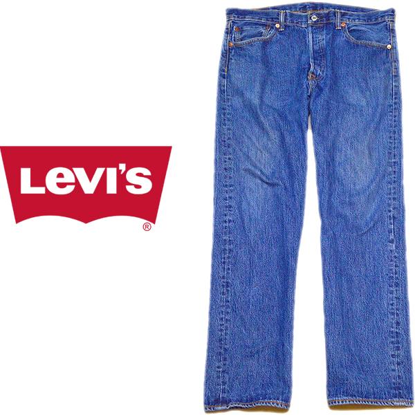 Levisリーバイス501ジーンズ画像ワイドデニムパンツ@メンズレディースコーデ古着屋カチカチ03