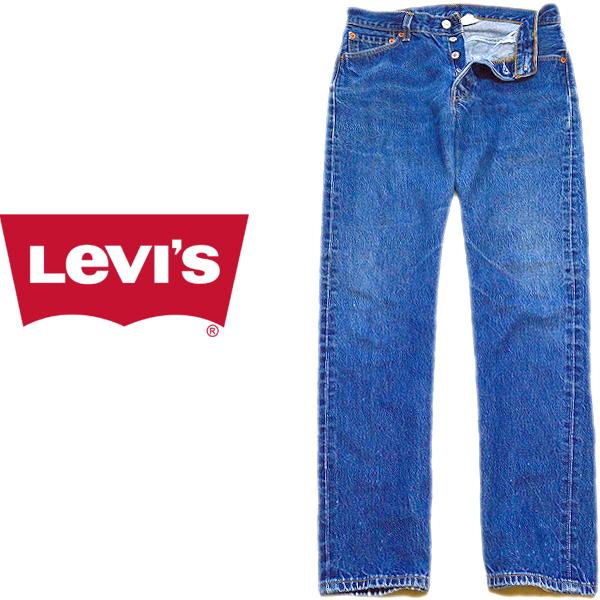 Levisリーバイス501ジーンズ画像ワイドデニムパンツ@メンズレディースコーデ古着屋カチカチ08