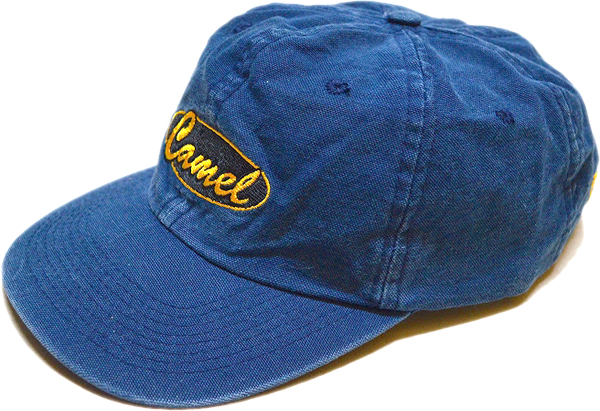 Navy Cap紺色帽子キャップ@メンズレディースコーデ@古着屋カチカチ01