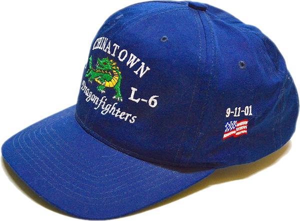 Navy Cap紺色帽子キャップ@メンズレディースコーデ@古着屋カチカチ04
