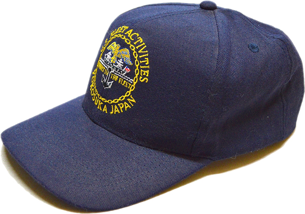 Navy Cap紺色帽子キャップ@メンズレディースコーデ@古着屋カチカチ05