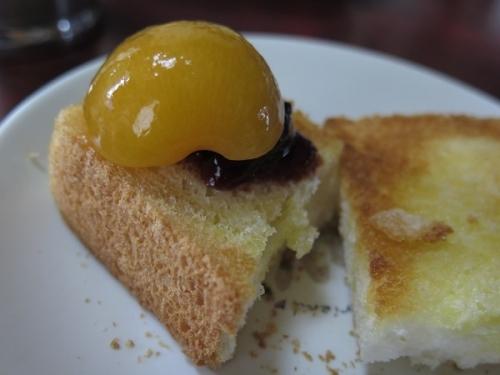 杏トースト