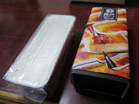 カタラーナとレアチーズケーキ