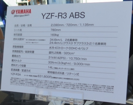YZF-R3 ABS