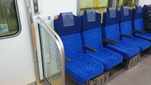 西武線座席 (2)