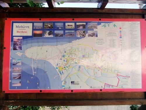 メトーニ_街の地図