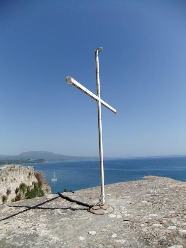 コローニ_修道院の一番高い所