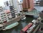 会社の窓から見た柳橋