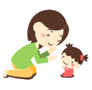 HP用画像母と赤ちゃん