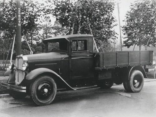 第99記事1933いすゞTX40型トラック協同国産自動車