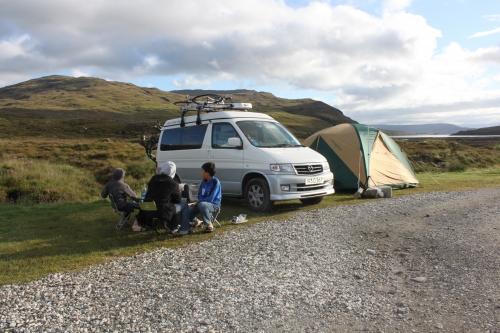 スカイ島キャンプ3