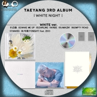 TAEYANG(SOL)(from BIGBANG) WHITE NIGHT◆