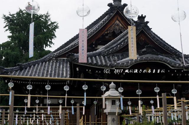 奈良・おふさ観音 風鈴まつり1