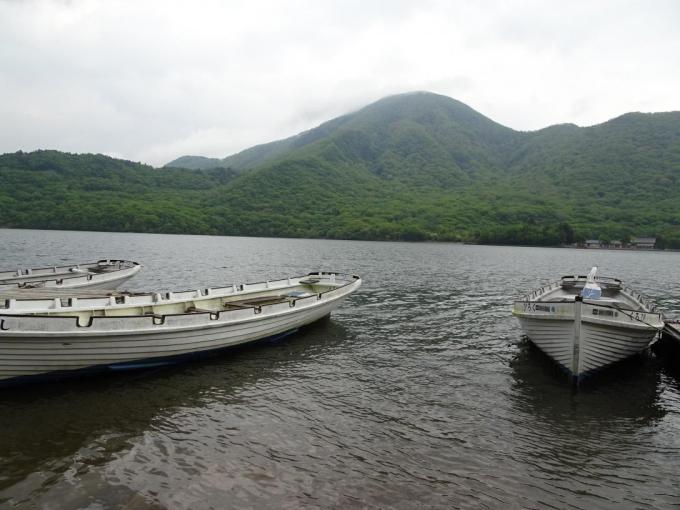 カッターと黒檜山