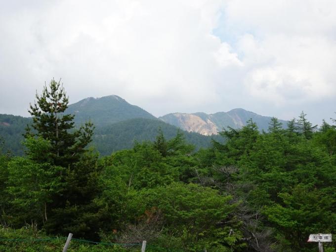 東篭ノ登山・水ノ塔山