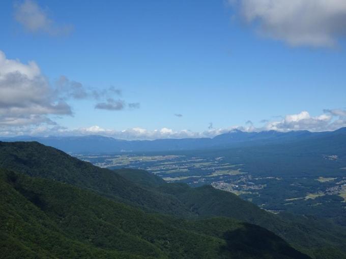 北八ヶ岳から霧ヶ峰