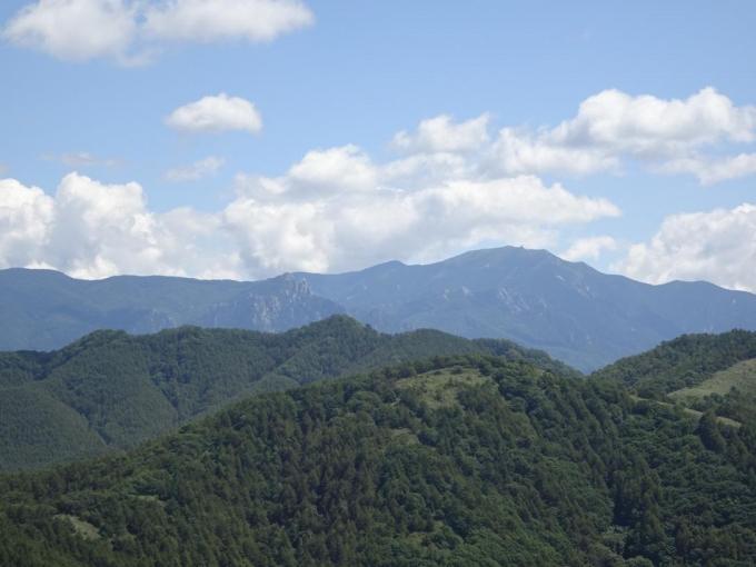 金峰山と瑞牆山
