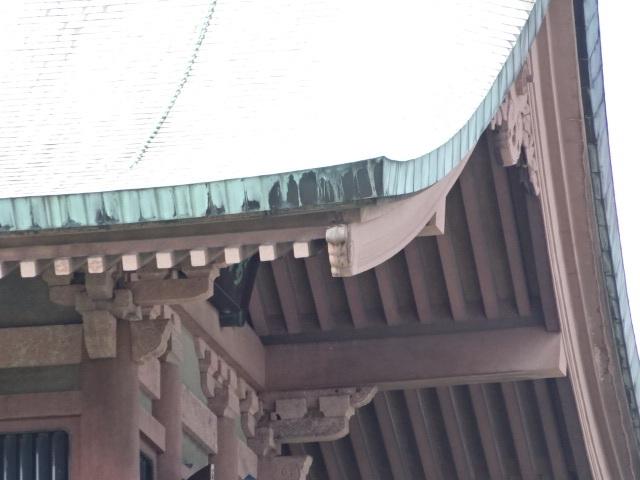 祇園閣 屋根