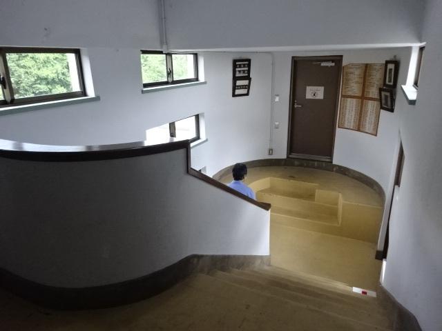 花山天文台 階段