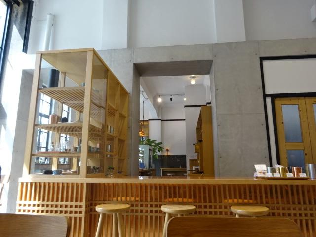 開化堂カフェ 1階2