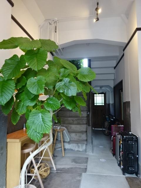 開化堂カフェ 1階脇