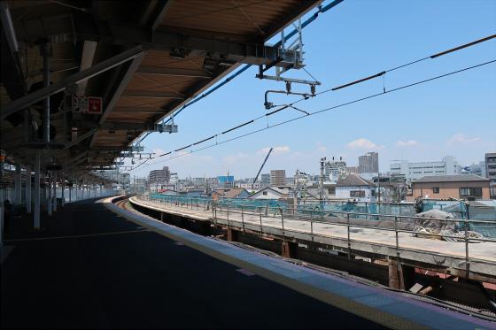 JR鴫野駅工事中01