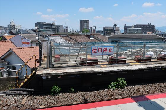 JR鴫野駅工事中04