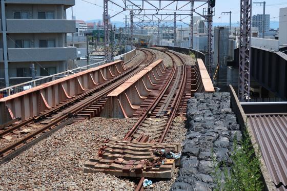 JR鴫野駅工事中15