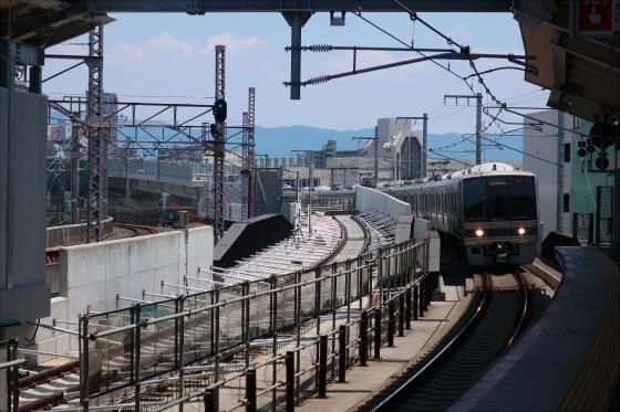 JR鴫野駅工事中16