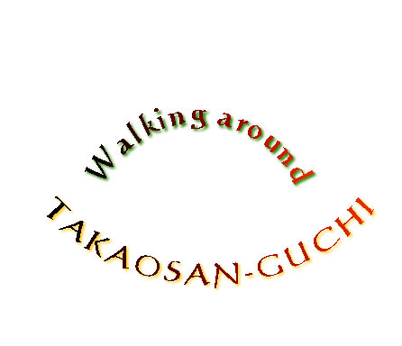 164_walking around TAKAOSAN-GUCHI