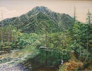 「岳沢湿原」