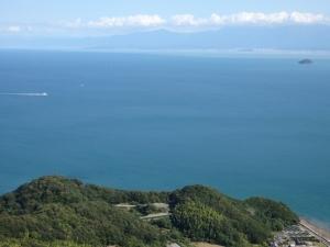 亀老山展望公園からの眺望