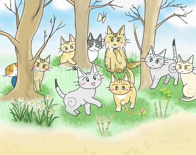 s-2018年度 猫友日めくりカレンダー ②-