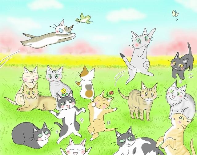 s-2018年度 猫友日めくりカレンダー ④-