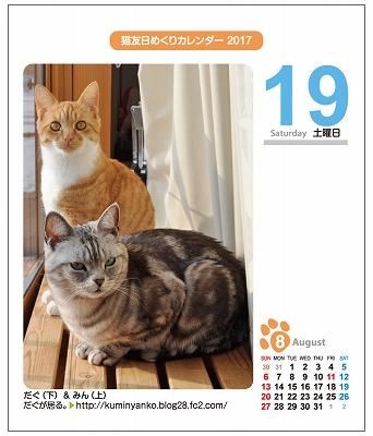 s-2017年カレンダー